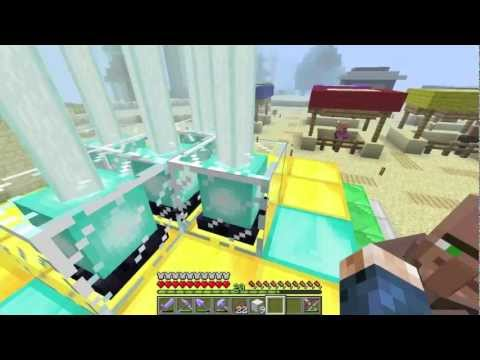Minecraft Beacon Pyramid Design: All 5 Buffs (1.4.5)