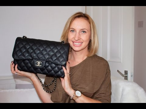 Chanel Jumbo Classic Flap Review + what's in my bag
