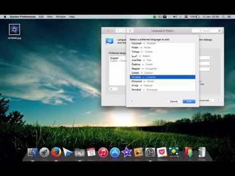 How Change Language on MacBook