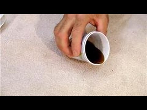 Carpet Cleaning : How to Remove Coffee Stains From Carpet