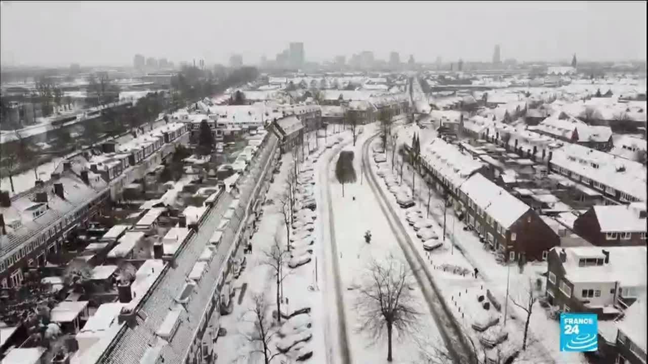 Vague de froid en Europe : le trafic ferroviaire, aérien et routier perturbé