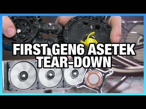 Corsair H150i Pro Tear-Down: Asetek's Gen6 Changes
