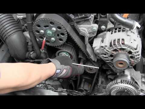 VW Audi TDI pumpe duse PD TDI engine timing belt tensioner trick