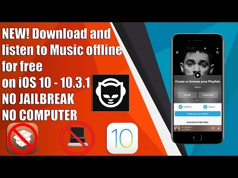 NEW! Download & Listen to Music OFFLINE for FREE on iOS 9/10 - 10.3.1 NO JAILBREAK NO COMPUTER