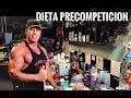 DIETA PRECOMPETICION(Ultimas 6 semanas)/FITNESSMASS/Prog#99