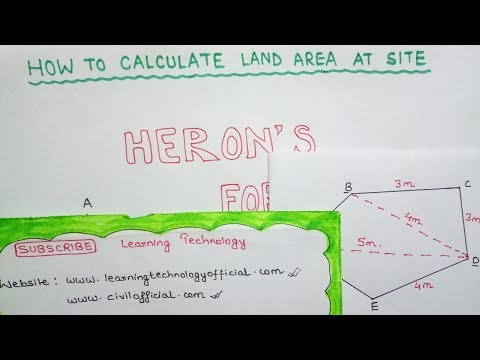 How To Calculate Land Area at Site   Learning Technology