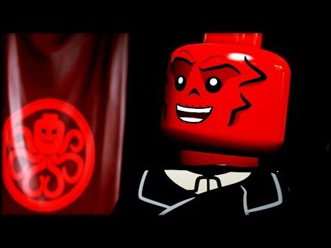 LEGO MARVEL AVENGERS - 100% Complete Level Guide - Rail Hydra!
