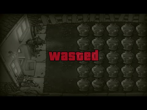 Plants vs. Zombies Game Over With GTA V Wasted