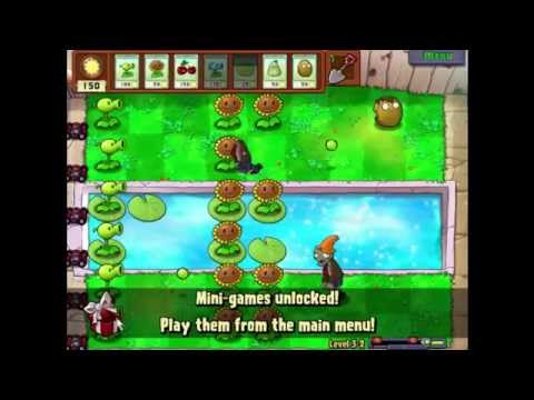 Plants Vs Zombies Lv 3-2
