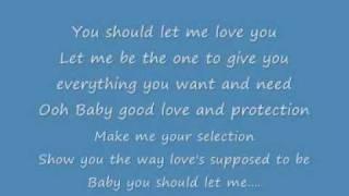 Mario Let Me Love You Lyrics