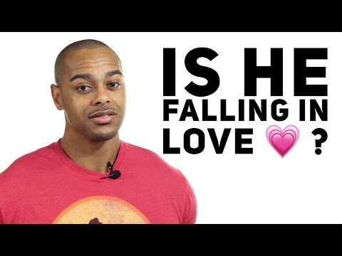 5 body language signs he's falling in love with you | How to tell if he loves you 2