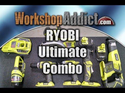 RYOBI 18V ONE+ 6 Piece Ultimate Combo Kit