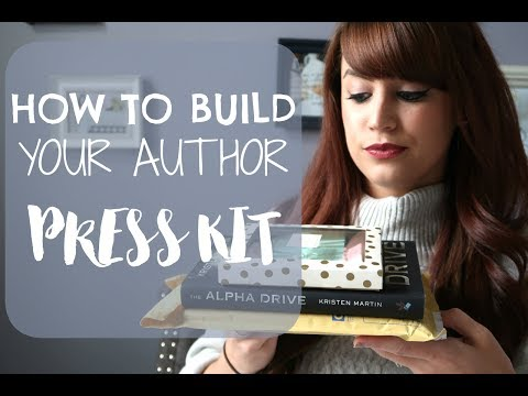 How To Build Your Author Press/Media Kit