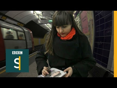 Artist who gives pictures away as therapy for compulsive skin picking disorder - BBC Stories
