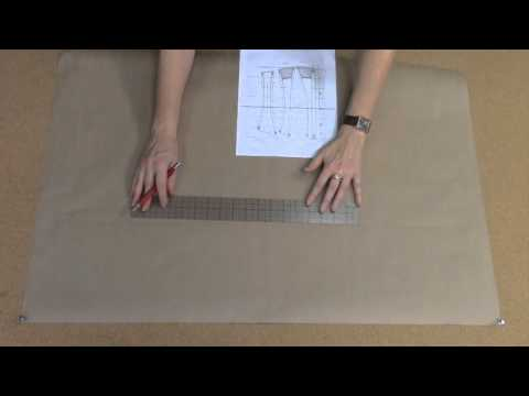 How to Draft Corset Patterns from a Pattern Book