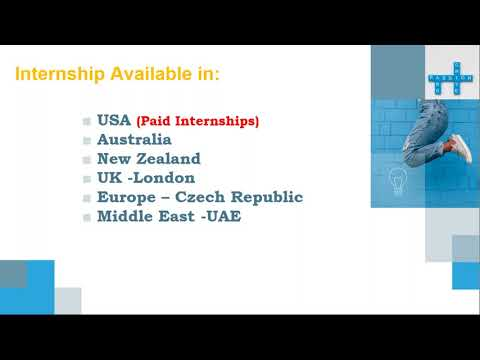 Paid Internships In Abroad for Students and Professional