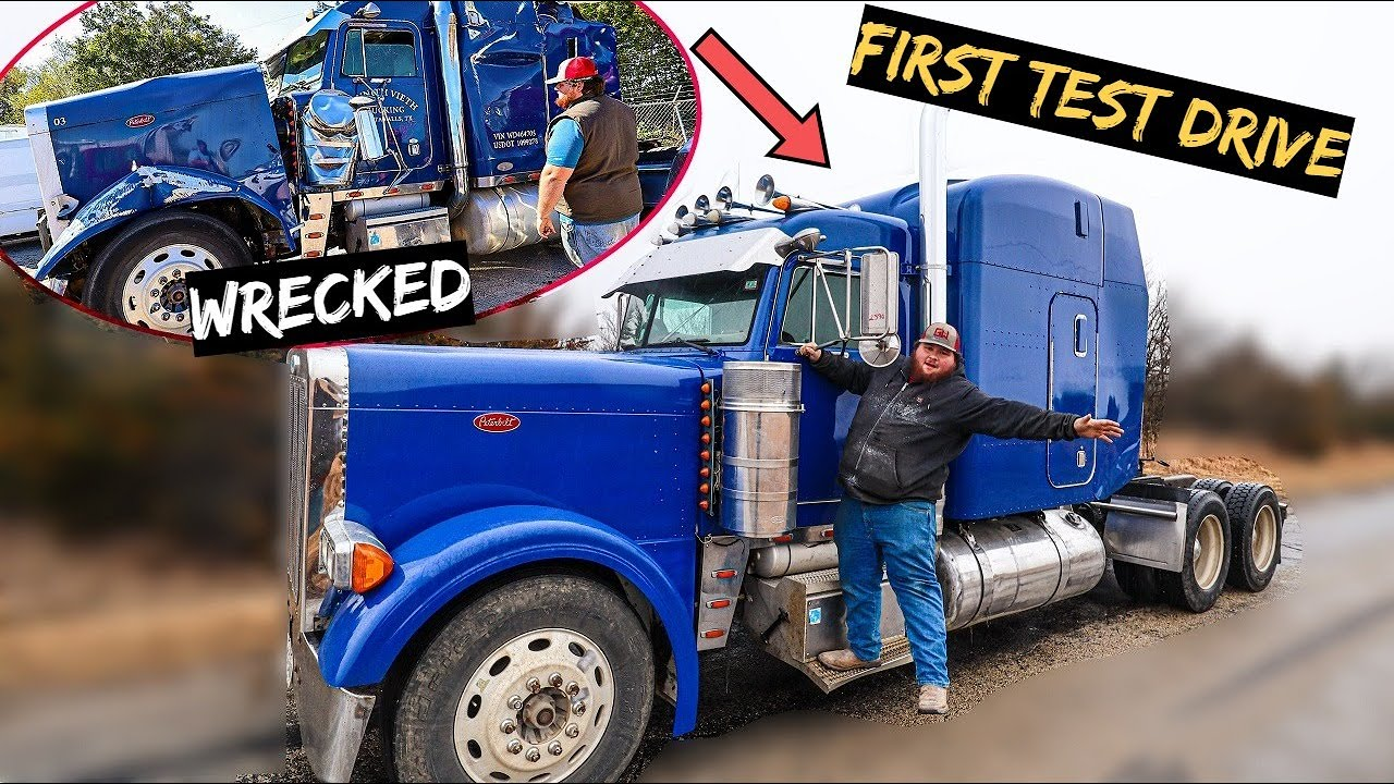It's Official the 379 Peterbilt is Unwrecked.