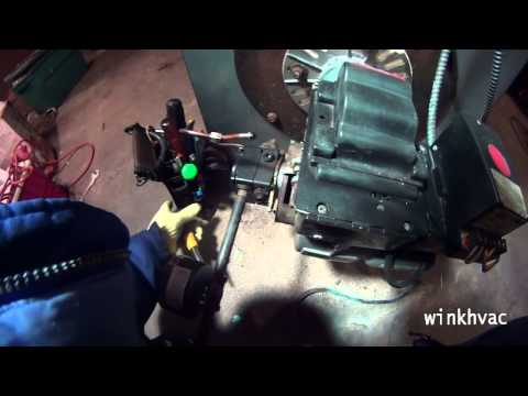 Combustion chamber replacement