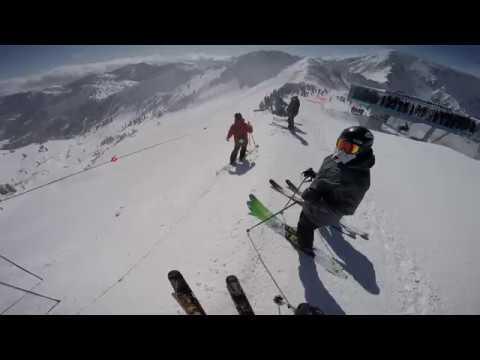 Snowbird Utah Mineral Basin Powder Panic Rope Drop Frenzy