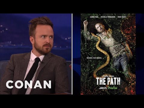 Aaron Paul: I Have A Terrible Gag Reflex  - CONAN on TBS