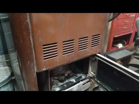 Homemade waste oil heater version 2.1