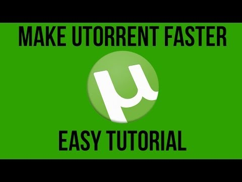uTorrent 3.3 Faster Download Speeds.
