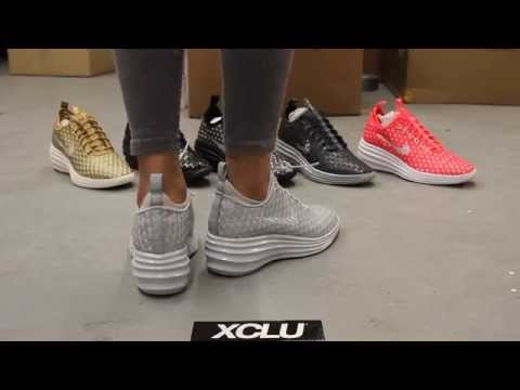 quality design 42ca5 75dc8 ireland womans nike lunar elite sky high qs city pack on feet video at  exclucity 39c84