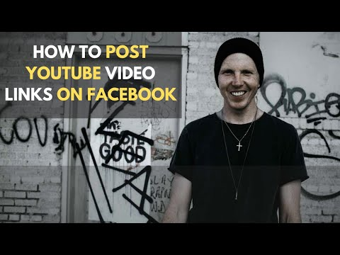 How To Post YouTube Video Links on Facebook