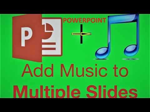 How To Add Background Music in Powerpoint Presentation [Hindi]