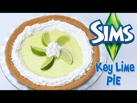 THE SIMS KEY LIME PIE - NERDY NUMMIES