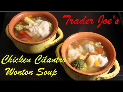 Easy Trader Joe's Chicken Cilantro Wonton Soup 🍜 !