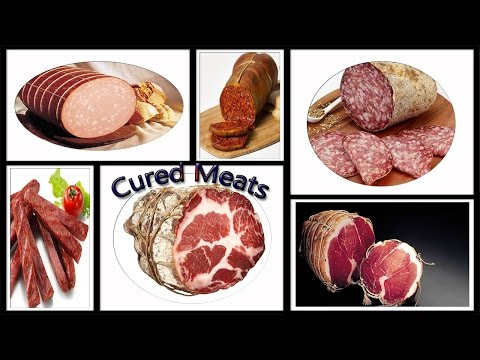 Top 10 Amazing Essential types of Cured Meats   Types of Cured Meats