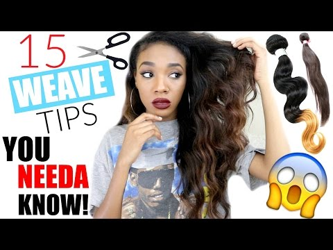 15 Weave Tips You NEED To Know