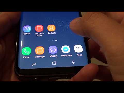 Samsung Galaxy S8: How to Change Home Button Sensitivity (Hard Press)
