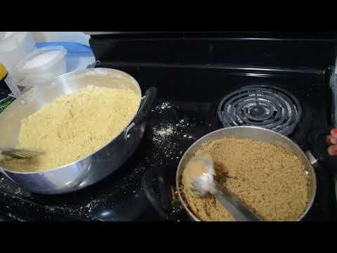 BESAN DI PANJIRI (traditional punjabi post partum sweet)