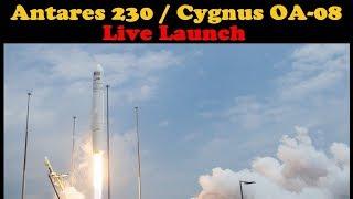 LIVE Launch of Orbital ATK