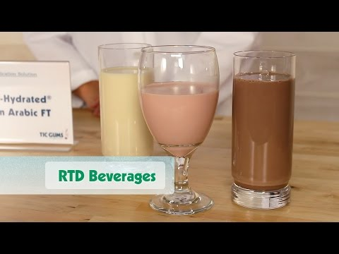 How Can Gums Improve Your RTD Beverage?