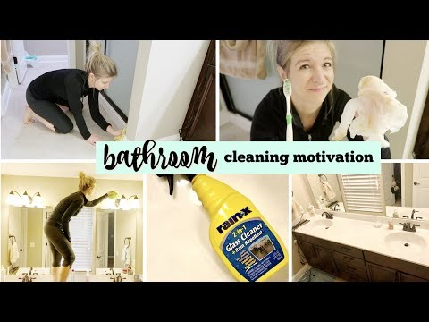 HOW TO DEEP CLEAN YOUR BATHROOM | DEEP CLEANING ROUTINE | SPRING CLEANING MOTIVATION