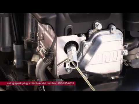 Changing and diagnosing problems with spark plugs  Get Running with Troy-Bilt