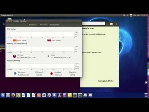 Cara Membuka Task Manager pada Linux Ubuntu