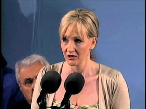 J.K. Rowling Speaks at Harvard Commencement