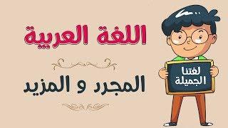 اللغة العربية | المجرد و المزيد