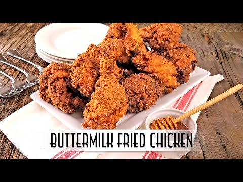 Buttermilk Fried Chicken | Double Dipped and Double Fried