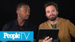 Kids Interview 'Avengers: Infinity War' Stars Sebastian Stan \u0026 Anthony Mackie | PeopleTV