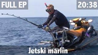 MARLIN FISHING FROM A JETSKI