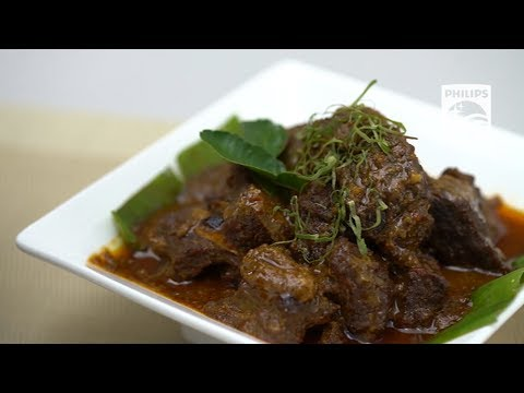 HD2137 - Philips All-in-One Pressure Cooker - Rendang Recipe