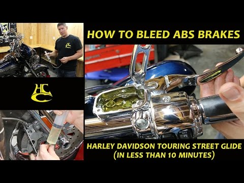 How to Bleed ABS Brakes on a Harley Davidson Touring Street Glide