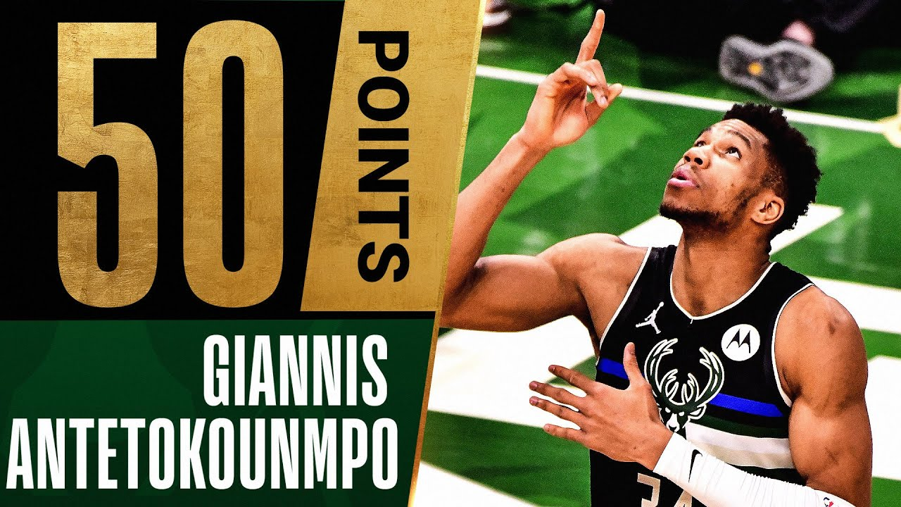 Giannis LEGENDARY 50 PTS & 5 BLOCKS in MASTERFUL Close Out Performance 🤯