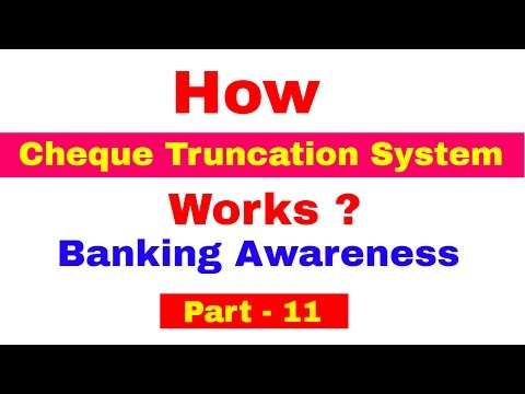 How Cheque Truncation System ( CTS)  works ! Detailed Explanation For Bank PO   Clerk   IPPB PO