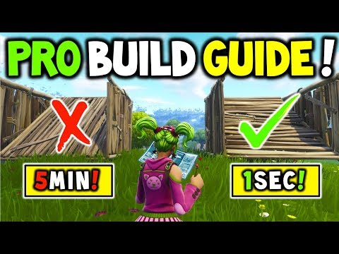 How to BUILD LIKE A PRO In Fortnite Battle Royale V4.3+ (MASTER BUILDING Guide to help you WIN!)